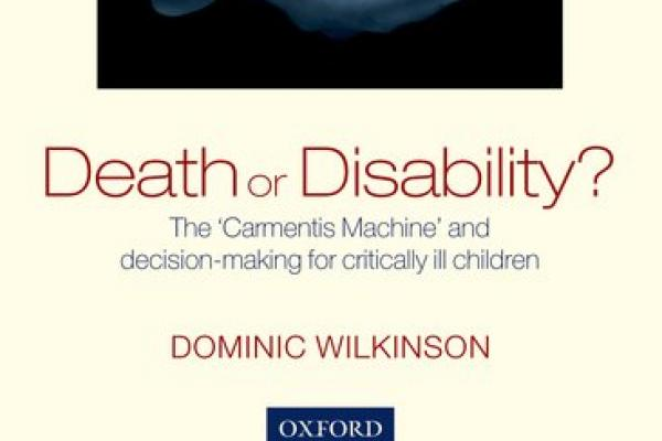 book cover death or disability
