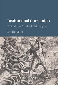 book cover institutional corruption
