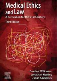 book cover medical ethics and law 3rd edition